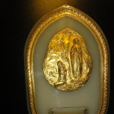 Antigüedades: BENDITERA BRONCE. Lote 36030763