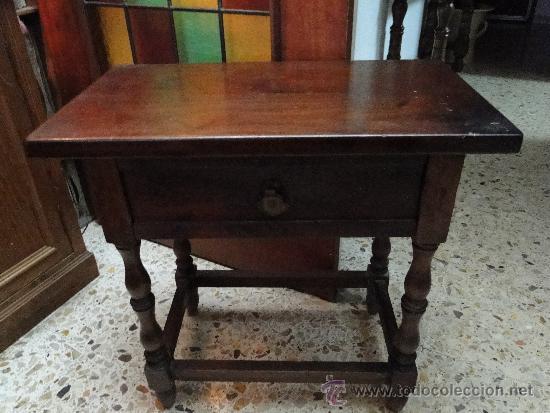 ANTIGUA MESITA CASTELLANA AUXILIAR (Antigüedades - Muebles Antiguos - Auxiliares Antiguos)