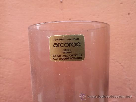 Antigüedades: antiguo juego de 6 copas arcoroc, a estrenar - Foto 3 - 36064948