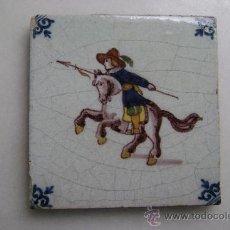 Antigüedades: AZULEJO DELFT.SIGLO XIX. Lote 36081231