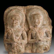 Antigüedades: ESCULTURA EN PIEDRA THAILANDIA SIGLO XVII. Lote 36082832