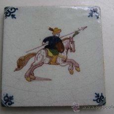 Antigüedades: AZULEJO DELFT. SIGLO XIX. Lote 36085090