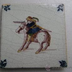 Antigüedades: AZULEJO DELFT.SIGLO XIX. Lote 36085169