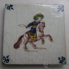 Antigüedades: AZULEJO DELFT.SIGLO XIX. Lote 36085237