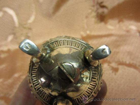 Antigüedades: Magnífico salero en plata de ley de principios de siglo XX - Foto 4 - 36094040