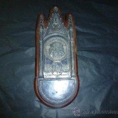 Antigüedades: SAGRADO CORAZON EN METAL. Lote 36104913