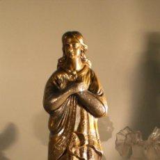 Antigüedades: MARAVILLOSA OBRA DE ARTE. VIRGEN INMACULADA.. Lote 36112760