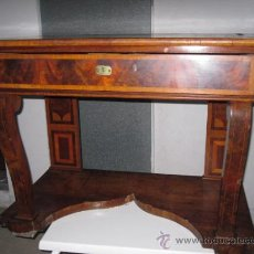 Antigüedades: ANTIGUA CONSOLA SIGLO XIX. Lote 36116776