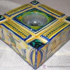 Antigüedades: SALERO ESPECIERO DE TRIANA SEVILLA PPIO XX. Lote 36120955