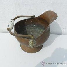 Antigüedades: CACHARRO PARA CHIMENEA DE COBRE. Lote 36142189