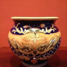Antigüedades: BONITO CENTRO DE MESA O MACETA (JARRON) PARA INTERIOR. Lote 36142889