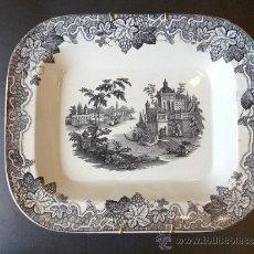 Antigüedades: FUENTE DE LOZA DE VALDEMORILLO. 1850.. Lote 36151547