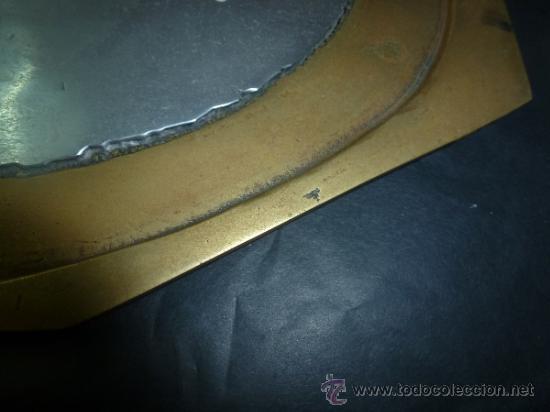 """Antigüedades: bandeja salvamantel de bronce """"alfonso marquez"""" - Foto 3 - 36150100"""