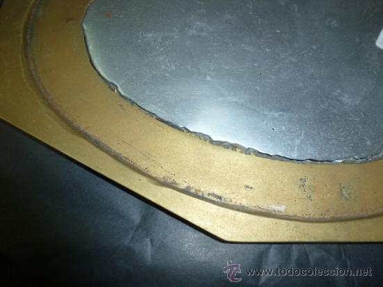 """Antigüedades: bandeja salvamantel de bronce """"alfonso marquez"""" - Foto 2 - 36150100"""