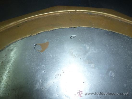 """Antigüedades: bandeja salvamantel de bronce """"alfonso marquez"""" - Foto 5 - 36150100"""