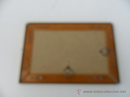 Antigüedades: portafoto dorado - Foto 2 - 36159013