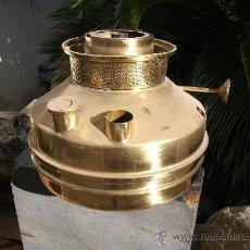 Antigüedades: FOGON DOMESTICO DE LATÓN. Lote 36198743