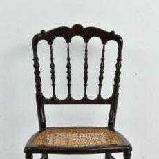 Antigüedades: SILKLA DE CAOBA. Lote 36199811