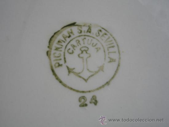 Antigüedades: ORINAL LA CARTUJA SEVILLA - Foto 3 - 36206515