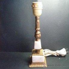 Antigüedades: PIE DE LAMPARA ANTIGUA. Lote 36321002