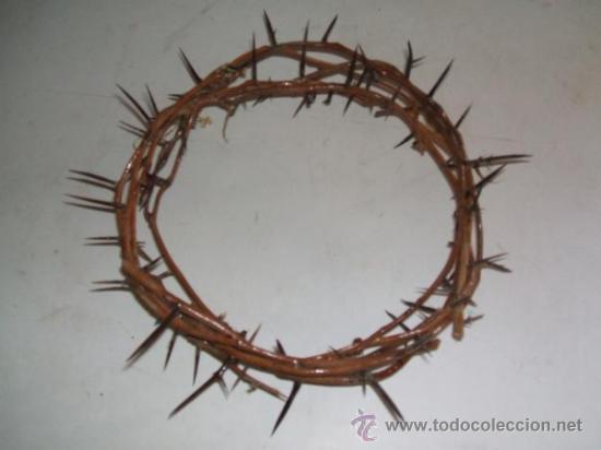Corona De Espinas Para Escultura De Cristo O Vi