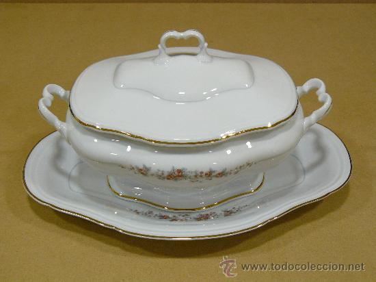 Impresionante vajilla antigua de porcelana de 8 comprar - Vajilla de porcelana ...