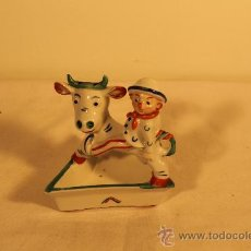 Antigüedades: FIGURA ART-DECO WALTER BOSSE. Lote 36528341