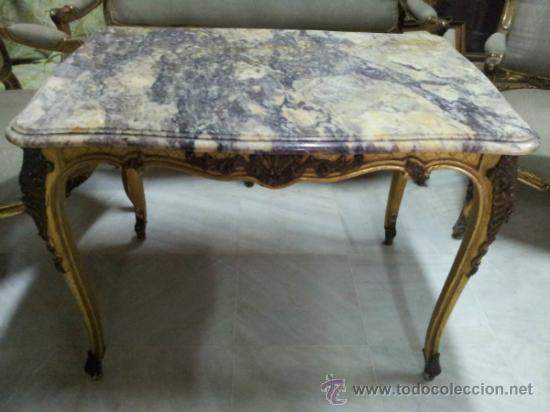 Antigüedades: Antiguo tresillo estilo Luis XV - Foto 4 - 36477540