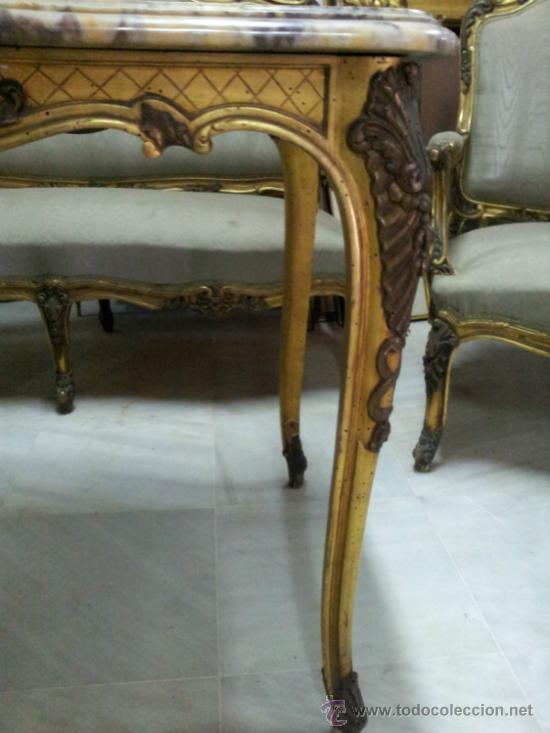 Antigüedades: Antiguo tresillo estilo Luis XV - Foto 6 - 36477540