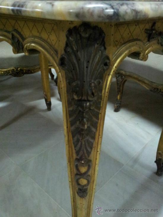 Antigüedades: Antiguo tresillo estilo Luis XV - Foto 7 - 36477540