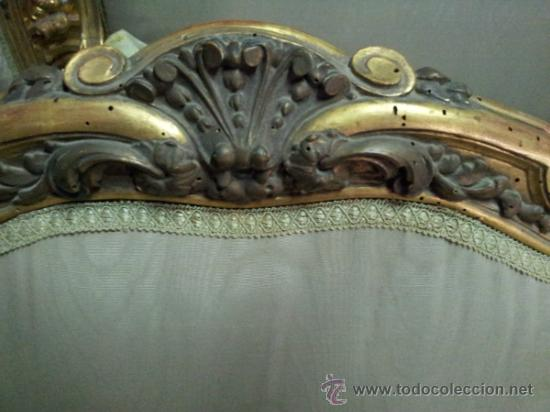 Antigüedades: Antiguo tresillo estilo Luis XV - Foto 14 - 36477540