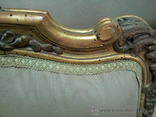 Antigüedades: Antiguo tresillo estilo Luis XV - Foto 15 - 36477540