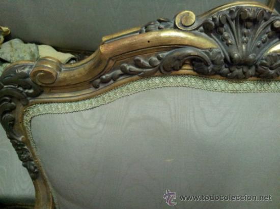 Antigüedades: Antiguo tresillo estilo Luis XV - Foto 16 - 36477540