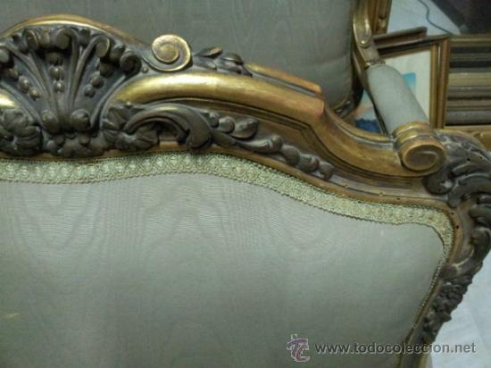 Antigüedades: Antiguo tresillo estilo Luis XV - Foto 17 - 36477540