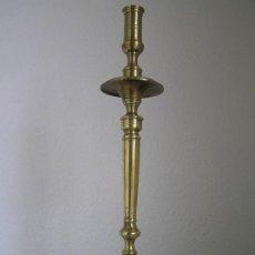 Antigüedades: ESPECTACULAR CANDELABRO ESPAÑOL S. XVIII. TRÍPODE GARRAS DE LEÓN.. Lote 36315938