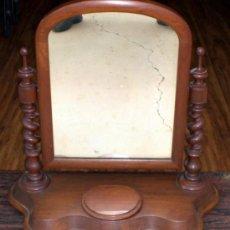 Antigüedades: TOCADOR DE SOBREMESA CON ESPEJO. Lote 36319559