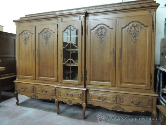 Antiguo mueble de comedor o salon buen estado comprar for Mueble bano madera clara