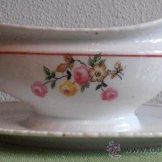 Antigüedades: SALSERA SANTA CLARA, MUY ANTIGUA. Lote 36355611