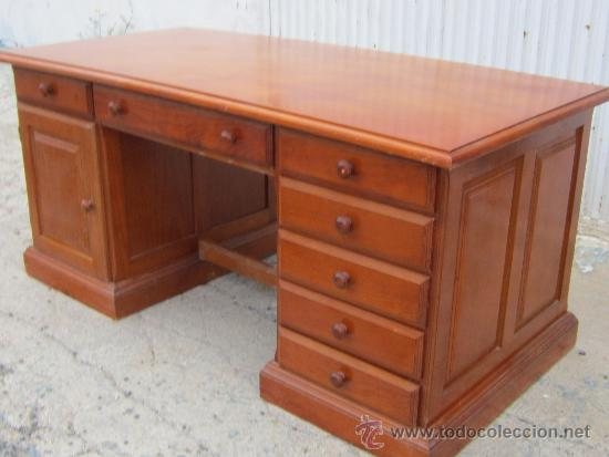 Escritorio en madera de pino vendido en venta directa 36357625 - Escritorios de madera ...