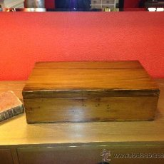 Antigüedades: CAJA ANTIGUA ROBLE. Lote 36376833