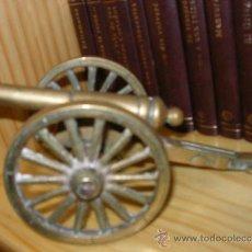 Antigüedades: CAÑON ANTIGUO EN BRONCE. Lote 36390942