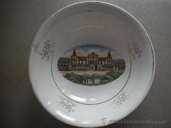 FUENTE PEQUEÑA DE SAN JUAN DE AZNALFARACHE,MEDIDAS 22 X 6 CM. (Antigüedades - Porcelanas y Cerámicas - San Juan de Aznalfarache)