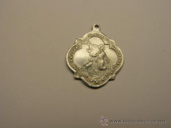 MEDALLA RELIGIOSA DE SAN PASCUAL BAILÓN, VILLARREAL. (Antigüedades - Religiosas - Medallas Antiguas)