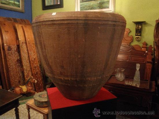 COCIO DE BARRO ANTIGUO (Antigüedades - Porcelanas y Cerámicas - Otras)