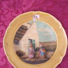 Antigüedades: PLATO VALENCIANO. . Lote 36410814