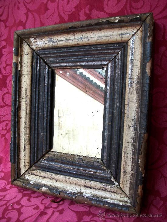 espejo de mercurio con marco del s. xvii. - Comprar Espejos Antiguos ...
