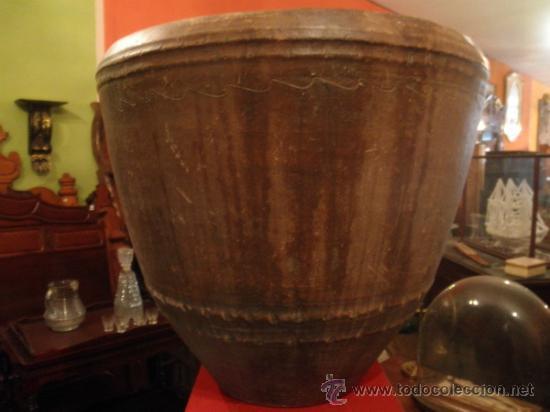 Antigüedades: COCIO DE BARRO ANTIGUO - Foto 3 - 36409623