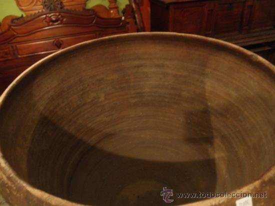 Antigüedades: COCIO DE BARRO ANTIGUO - Foto 4 - 36409623