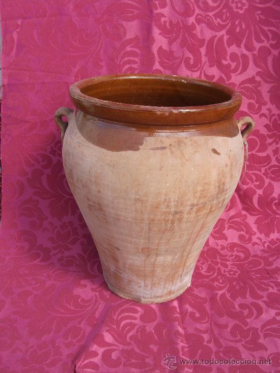VASIJA DE BARRO (Antigüedades - Porcelanas y Cerámicas - Otras)