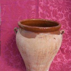 Antigüedades: VASIJA DE BARRO. Lote 36426136